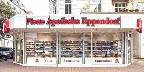 Neue Apotheke Eppendorf in Hamburg